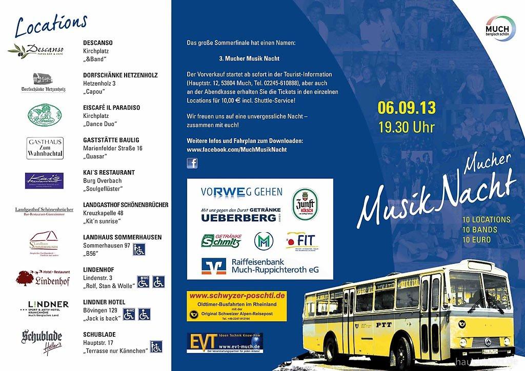 MMN 2013 - Allgemeines