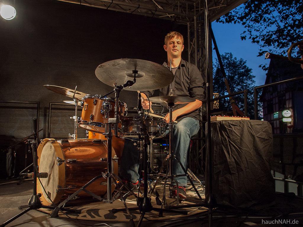 Julian und Roman Wasserfuhr Quartet - Bingen swingt 2013