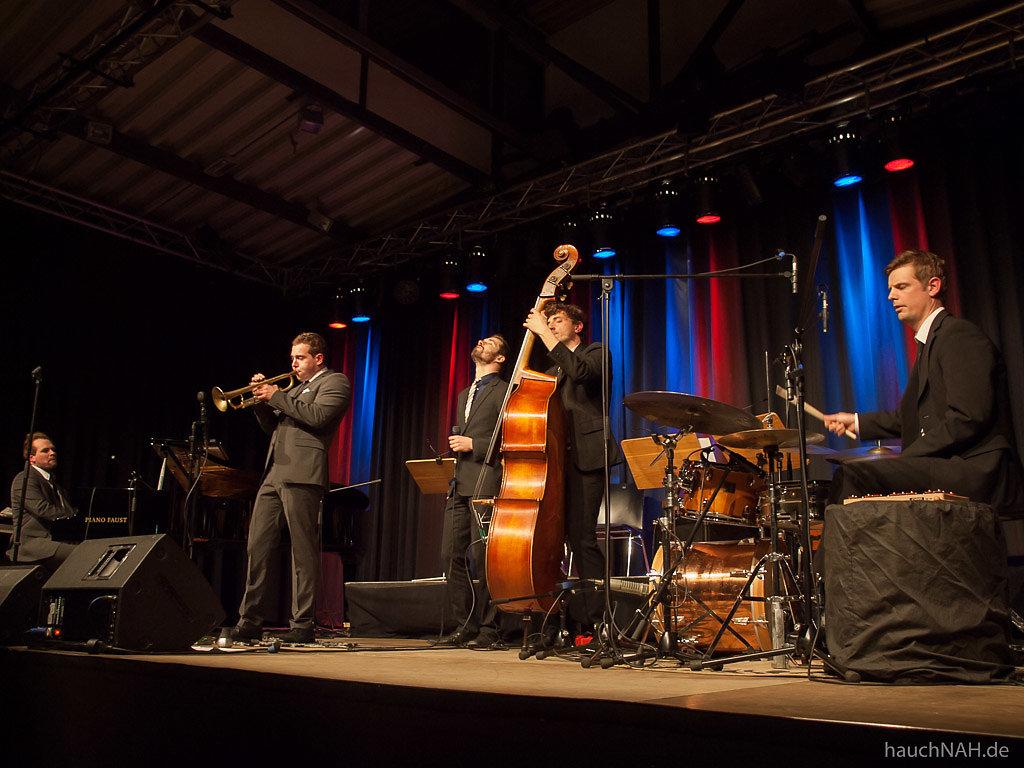 Julian und Roman Wasserfuhr Quartet mit David Rynkowski
