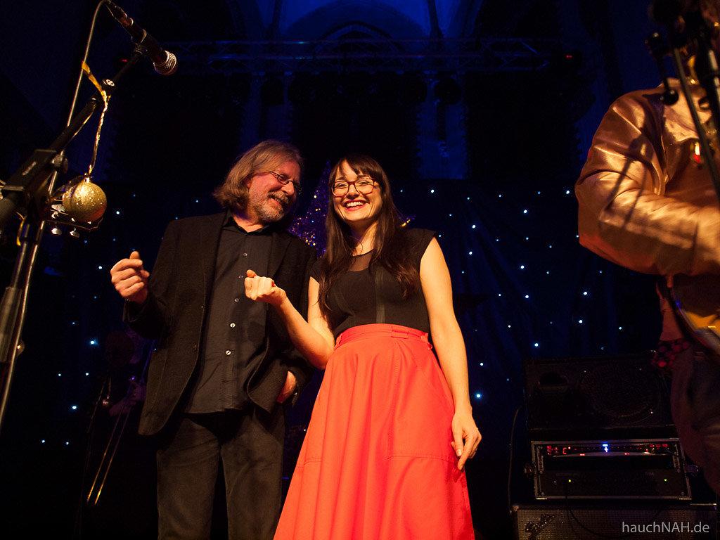 Thomas Diederichs mit Jemma Endersby